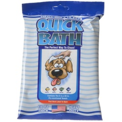 "International Vet Quick Bath Wipes for Dogs (Small Dog - 10"" Long x 5"" Wide [10 Pack])"