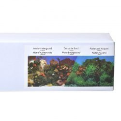 """23324 250x250 - Blue Ribbon Freshwater Garden & Carribean Coral Reef Double Sided Aquarium Background (50' Long x 19"""" High)"""