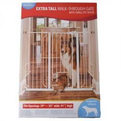 "Carlson Pet Gates Walk Thru Tall Gate (29""-40"" Wide x 41"" Tall)"