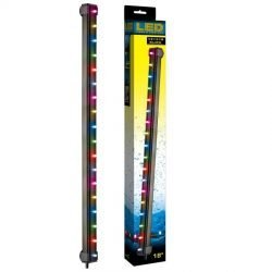 "24815 250x250 - Via Aqua LED Light & Airstone Slow Color Changing (3.3 Watts - 18"" Long [18 Multicolor LED's])"