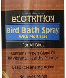 Ecotrition Bird Bath Spray with Molt Ease (8 oz)