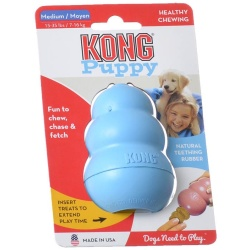 "29090 250x250 - Kong Puppy Kong (Medium [5""L x 2.25""W x 7.5""H])"