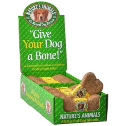 Natures Animals All Natural Dog Bone - Cheddar Cheese Flavor (24 Pack)