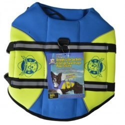 35285 250x250 - Paws Aboard Neoprene Designer Doggy Life Jacket - Blue & Green (Small [For Dogs 15-20 lbs])