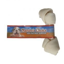"35873 250x250 - Loving Pets Nature's Choice 100% Natural Rawhide Knotted Bones (4""-5"" Bone)"