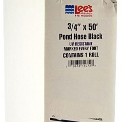 "Lees Flexible Pond Tubing - Black (50' Long Tube [3/4"" Diameter Tubing])"