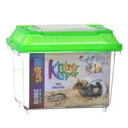 "Lees Kritter Keeper with Lid (Mini - 7.13""L x 4.38""W x 5.5""H)"