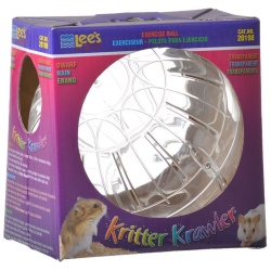 "Lees Kritter Krawler - Clear (Mini - 3"" Diameter)"