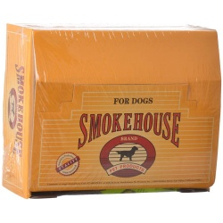 "40811 250x250 - Smokehouse Treats Pizzle Stix Dog Chews (6.5"" Long [100 Pack with Display Box])"