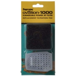 Supreme Ovation Submersible Power Jet Filter Replacement Filtration Pack (Ovation 1000)