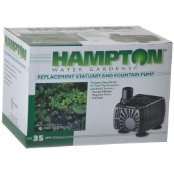 42803 250x250 - Hampton Water Gardens Replacement Statuary & Fountain Pump (35 GPH with 6' Power Cord)
