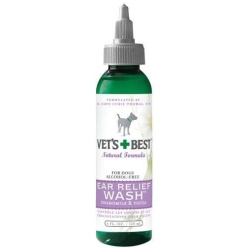 Vets Best Ear Relief Wash for Dogs (4 oz)