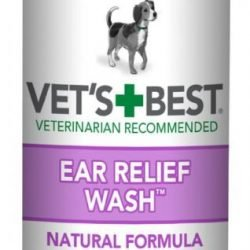 Vets Best Ear Relief Wash for Dogs (16 oz)
