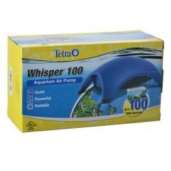 Tetra Whisper Aquarium Air Pumps (UL Listed) (Whisper 100 - Up to 100 Gallons [2 Outlets])