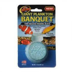 Zoo Med Plankton Banquet Fish Feeding Block (Giant - 1 Pack)