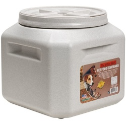 "50623 250x250 - Vittles Vault Airtight Square Pet Food Container (Holds 30-35 lbs - 13""L x 14""W x 14""H)"