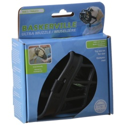 """59687 250x250 - Baskerville Ultra Muzzle for Dogs (Size 2 - Dogs 12-25 lbs - [Nose Circumference 10.5""""])"""