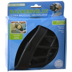 """59696 250x250 - Baskerville Ultra Muzzle for Dogs (Size 5 - Dogs 60-90 lbs - (Nose Circumference 13.7""""))"""