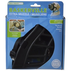 "59699 250x250 - Baskerville Ultra Muzzle for Dogs (Size 6 - Dogs 80-150 lbs - (Nose Circumference 16""))"