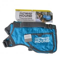 """60055 250x250 - Outward Hound Thermovest Dog Vest - Blue (Large - Dogs 55-85 lbs - [36"""" Max. Chest Girth])"""