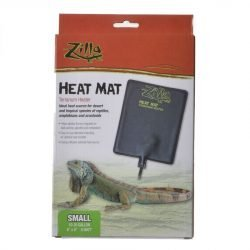"61364 250x250 - Zilla Heat Mat Terrarium Heater (Small - 8 Watt - 10-20 Gallon Tanks - [6"" x 8""])"