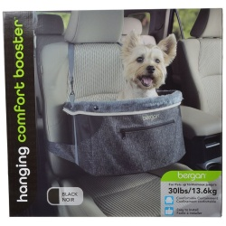 67009 250x250 - Bergan Comfort Hanging Booster Seat - Black (Small (Pets up to 30 lbs))