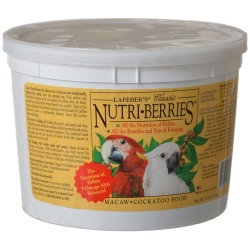 69574 250x250 - Lafeber Classic Nutri-Berries Macaw & Cockatoo Food (3.5 lb Bucket)