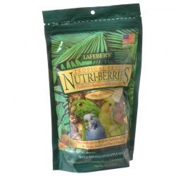 69592 250x250 - Lafeber Tropical Fruit Nutri-Berries Parakeet, Cockatiel & Conure Food (10 oz)