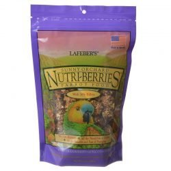 69613 250x250 - Lafeber Sunny Orchard Nutri-Berries Parrot Food (10 oz)