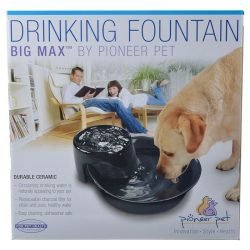 70144 250x250 - Pioneer Big Max Ceramic Drinking Fountain - Black (128 oz)