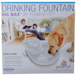 70162 250x250 - Pioneer Big Max Ceramic Drinking Fountain - White (128 oz)