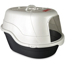 """70584 250x250 - Nature's Miracle Advanced Hooded Cat Litter Box (Large [17""""L x 19""""W x 25""""H])"""