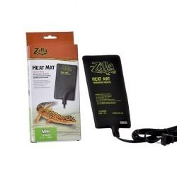 "70656 250x250 - Zilla Heat Mat Terrarium Heater (Mini - 4 Watt - 1-5 Gallon Tanks - [4"" x 7""])"