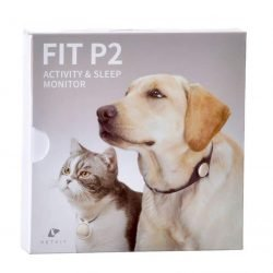 "71887 250x250 - PetKit Fit P2 Pet Activity Monitor - Grey (1.2"" Diameter)"