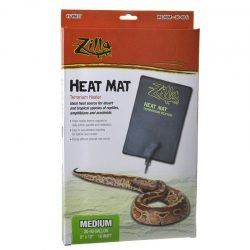 74082 250x250 - Zilla Heat Mat Terrarium Heater (Medium - 16 Watt - 30-40 Gallon Tanks)