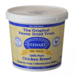 75027 250x250 - Stewart Pro-Treat 100% Freeze Dried Chicken Breast for Dogs (11.5 oz)