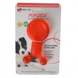 """SmartPetLove Pupcicle Teething Aid - Red (1 Pack - [5.5""""L x 2.5""""W])"""