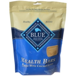 Blue Buffalo Health Bars Dog Biscuits - Baked with Chicken Liver (16 oz)