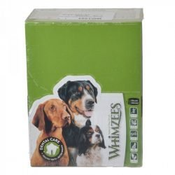 Whimzees Natural Dental Care Hedgehog Dog Treats (Large - 30 Pack - [Dogs 40-60 lbs])