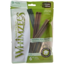 Whimzees Natural Dental Care Stix Dog Treats (Large - 7 Pack - [Dogs 40-60 lbs])