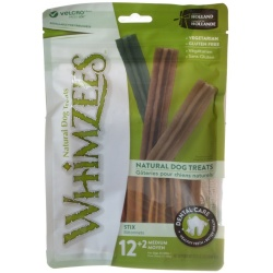 Whimzees Natural Dental Care Stix Dog Treats (Medium - 14 Pack - [Dogs 25-40 lbs])