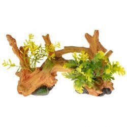 79918 250x250 - Exotic Environments Driftwood Centerpiece with Plants - Small (1 Count)