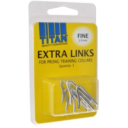 Titan Extra Links for Prong Training Collars (Fine [2.0 mm] - 3 Count)