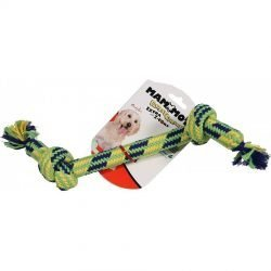 "Mammoth Flossy Chews 2 Knot Bone with Z-Core (Medium - [12"" Long])"