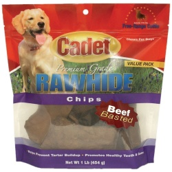 cadet rawhide chips beef basted 1 pound 250x250 - Cadet Rawhide Chips Beef Basted 1 pound
