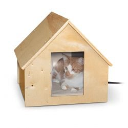"kh pet products birdwood manor thermo kitty house wood 18 x 16 x 15 250x250 - K&H Pet Products Birdwood Manor Thermo-Kitty House Wood 18"" x 16"" x 15"""