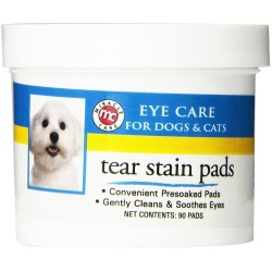 miracle corp eye clear tear stain pads 90 count 250x250 - Miracle Corp Eye Clear Tear Stain Pads 90 count