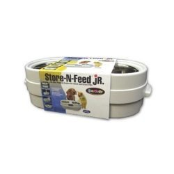 "our pets store n feed jr small white 18 x 8 x 55 250x250 - Our Pets Store-N-Feed Jr. Small White 18"" x 8"" x 5.5"""