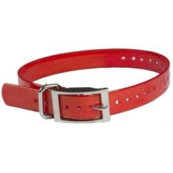 "the buzzards roost replacement collar strap 1 red 1 x 24 250x250 - The Buzzard's Roost Replacement Collar Strap 1"" Red 1"" x 24"""