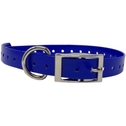 "the buzzards roost replacement collar strap 34 dark blue 34 x 24 250x250 - The Buzzard's Roost Replacement Collar Strap 3/4"" Dark Blue 3/4"" x 24"""